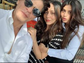 PHOTOS: Shah Rukh Khan shares pictures from his daughter Suhana Khan's graduation ceremony