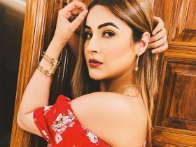 PHOTOS: Bigg Boss fame Shehnaaz Gill shows how to stun in red outfits