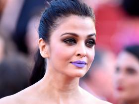 When Aishwarya Rai Bachchan wore a purple lipstick at Cannes Film Festival 2016 & the internet had a meltdown