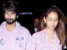 When Shahid Kapoor and Mira Rajput cheated on their diet and stepped out twinning in lavender outfits