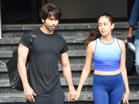 When Shahid Kapoor and Mira Rajput stepped out of the gym and their chemistry was 10 on 10