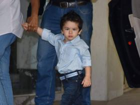 When Taimur Ali Khan rocked spiked hair and the internet couldn't stop gushing over his new look