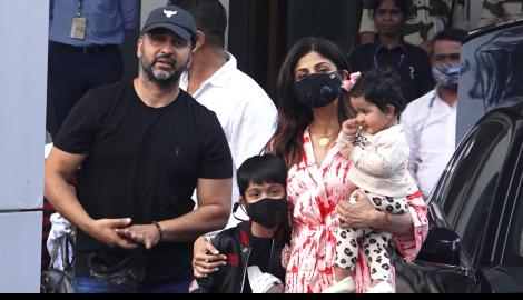 SPOTTED! Shilpa Shetty RETURNS to the city; Arjun Kapoor gets back to work