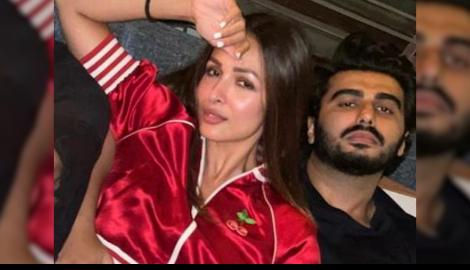 Love is in the air! Malaika Arora & Arjun Kapoor lead yet another star studded party in the town