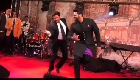 "JHAKAAS! Anil Kapoor proves he is on ""Top of the world"" with his dance moves with Ranveer Singh & Arjun Kapoor"