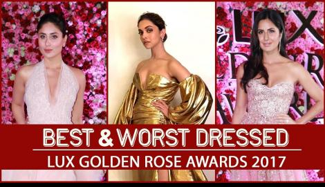 Deepika Padukone, Katrina Kaif: Best and Worst Dressed at Lux Golden Rose Awards 2017
