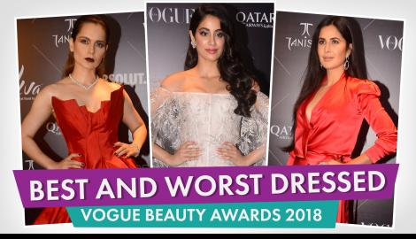Janhvi Kapoor, Kangana Ranaut, Katrina Kaif : Best and worst dressed at The Vogue Beauty Awards 2018