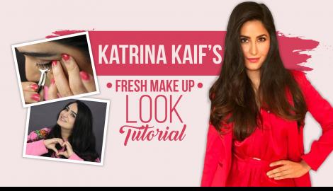 Katrina Kaif's Classic Fresh Makeup Tutorial