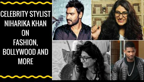 Usher tried on Ajay Devgn's jacket - Niharika Khan on Fashion, Bollywood & more