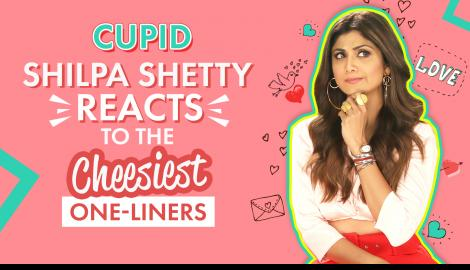 Shilpa Shetty Reacts To The Cheesiest One Liners | Hear Me Love Me | Pinkvilla
