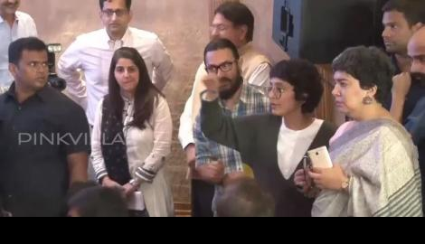 Spotted! Aamir Khan & Kiran Rao at an event