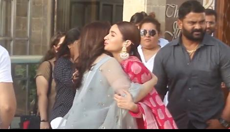 When Alia Bhatt warmly wished Madhuri Dixit as they promoted their movie together