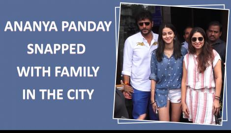 Ananya Pandey and Ranbir Kapoor papped in the city