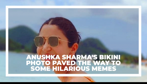 Anushka Sharma's bikini picture paves way for hilarious memes