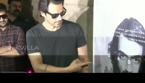 Arjun Rampal & Arun Gawli's family attend Daddy's teaser launch!