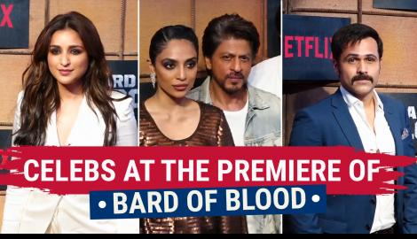 Emraan Hashmi, Shah Rukh Khan and other celebs attend the premiere of Bard of Blood