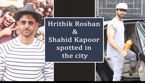 Hrithik Roshan and Mrunal Thakur promote their film Super 30 in style; Shahid Kapoor spotted in the city