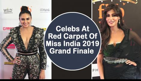 Huma Qureshi and Chitrangada Singh glam up the red carpet at Miss India 2019 Grand Finale