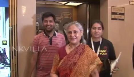 Jaya Bachchan attends a panel discussion about women in cinema