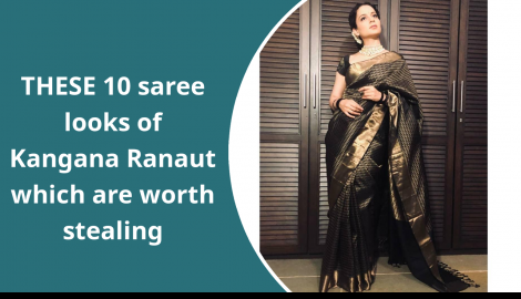 Kangana Ranaut's 10 best saree looks; check them out