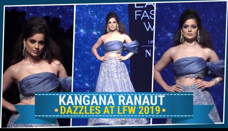 Kangana Ranaut proves that she is the ultimate slay queen at Lakme Fashion Week.
