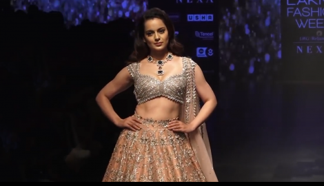 kangana ranaut, lakme fashion week 2019, lfw 2019