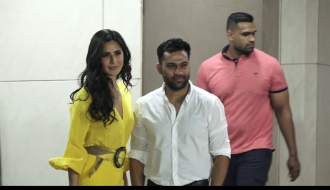Katrina Kaif slays in a yellow outfit at Salman Khan's birthday eve