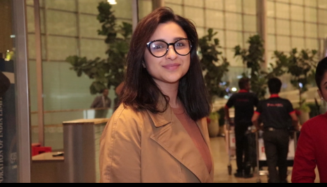 Parineeti Chopra arrives at the airport in style