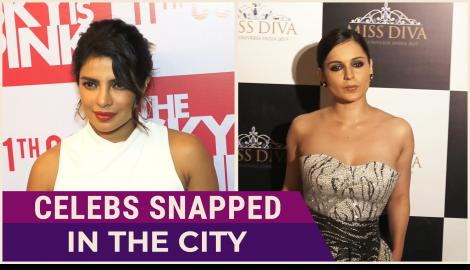 Priyanka Chopra Jonas, Kangana Ranaut and other celebs spotted around Mumbai