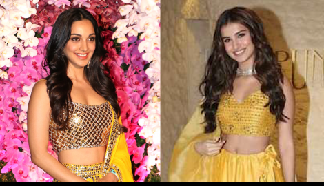 Kiara Advani VS Tara Sutaria: Who carried the yellow lehenga better? WATCH this entire video and comment