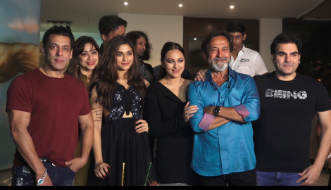 Salman Khan and Sonakshi Sinha and others celebrate Saiee Manjrekar's birthday bash