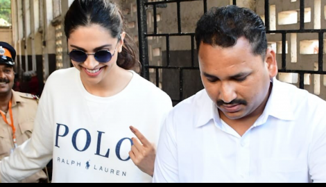 Deepika Padukone and her beau Ranveer Singh cast their votes