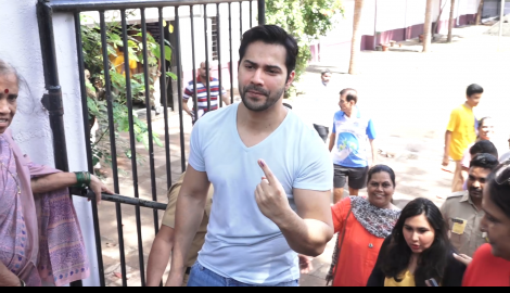 Anushka Sharma, Varun Dhawan and Arjun Kapoor step out to vote