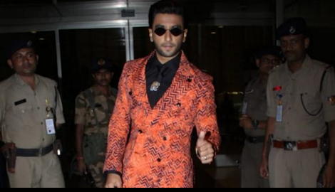 Ranveer Singh looked amazing in a formal outfit at the airport