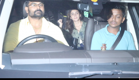Alia Bhatt and Malaika Arora arrive at Karan Johar's bash for Katy Perry