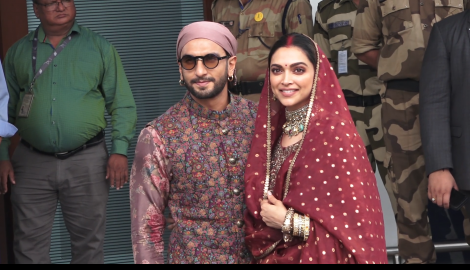 Deepika Padukone celebrates her first wedding anniversary with Ranveer Singh