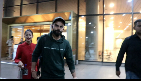 Anushka Sharma gives a warm welcome to Virat Kohli at the airport, Taapsee Pannu gets papped at an event