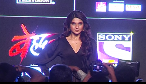 Jennifer Winget stuns in a black outfit as she graces Beyhadh 2's launch event
