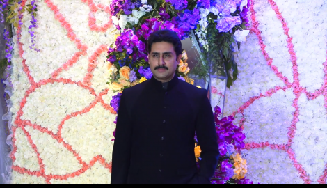 Abhishek Bachchan, Anil Kapoor, and Tabu attend Devansh Barjatya's wedding reception in style