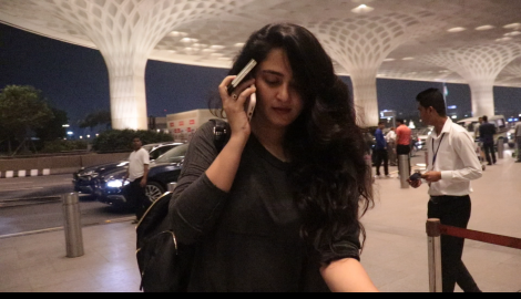 Nishabdham actress Anushka Shetty and Krystle D'Souza get spotted in the city