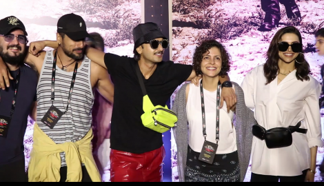 Deepika Padukone, Ranveer Singh and Hrithik Roshan spotted as they attend the U2 concert in the city
