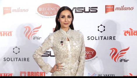 Malaika Arora slays the all glam look at a red carpet appearance