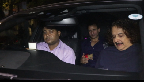 Kareena Kapoor Khan and Saif Ali Khan get papped together as they arrive at Rani Mukerji's bash