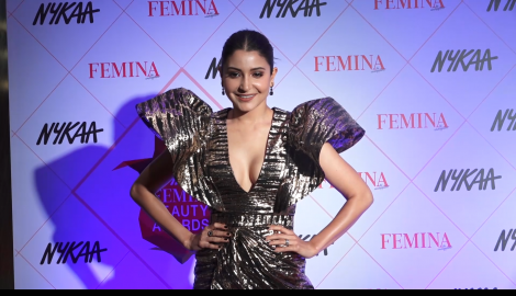Anushka Sharma makes a stunning appearance at Femina Beauty Awards 2020