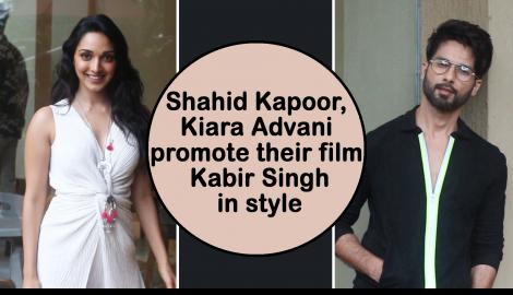 Shahid Kapoor & Kiara Advani's style game for the promotions of Kabir Singh is on point