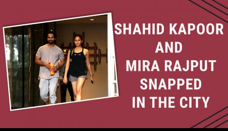 Kabir Singh star Shahid Kapoor spotted with wife Mira Rajput