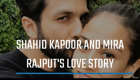 Shahid Kapoor and Mira Rajput's Love Story From how the couple met to their blissful marriage