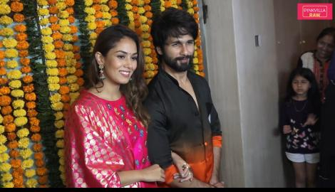 Shahid kapoor, Mira Rajput, Karan Johar & others slay in traditional outfit at Ekta Kapoor's Diwali bash