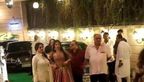 Sridevi & others attend Ekta Kapoor's Diwali Bash!