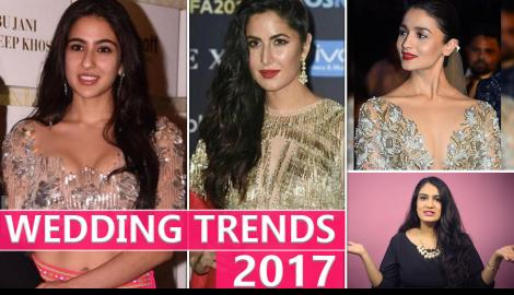 Priyanka Chopra, Alia Bhatt, Katrina Kaif inspired: Wedding Season 2017 Trends